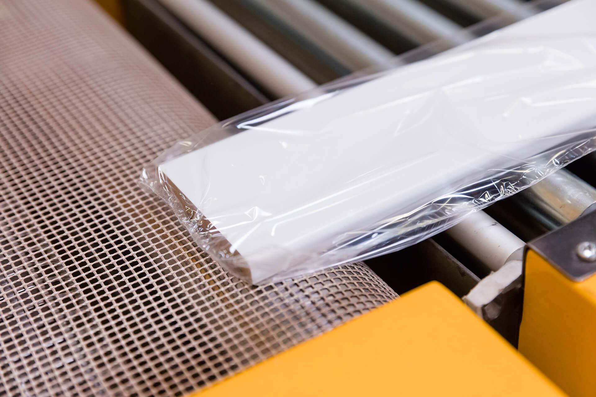 Gebrauchsfertige verpackte Streifen